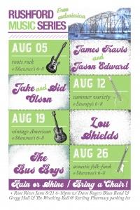 Rushford Music Series @ Downtown Rushford